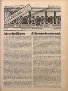 Der Sonntagsbote. Wochenschrift für das katholische Volk der Diözese Katowice, 1933, Jg. 9, Nr. 45