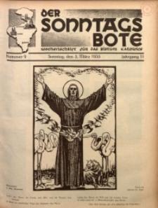 Der Sonntagsbote. Wochenschrift für das Bistum Katowice, 1935, Jg. 11, Nr. 9