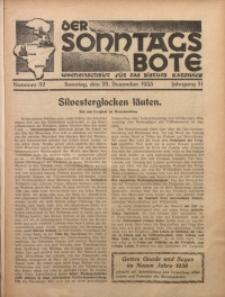 Der Sonntagsbote. Wochenschrift für das Bistum Katowice, 1935, Jg. 11, Nr. 52