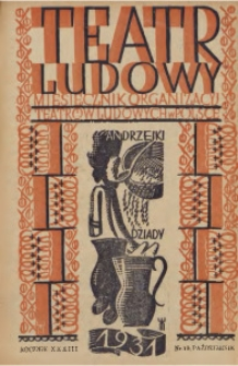 Teatr Ludowy, 1931, R. 23, nr 10
