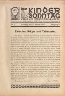 Der Kindersonntag, 1935, Jg. 11, Nr. 3