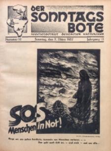 Der Sonntagsbote. Wochenschrift deutscher Katholiken, 1937, Jg. 13, Nr. 10