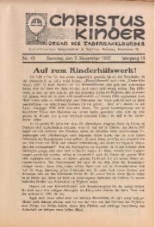 Christus Kinder, 1937, Jg. 13, Nr. 45