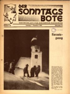 Der Sonntagsbote. Kirchenblatt für das Bistum Kattowitz, 1940, Jg. 16, Nr. 48