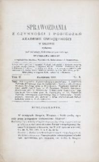 Sprawozdania z Czynności i Posiedzeń Akademii Umiejętności w Krakowie, 1897, T. 2, Nr 8