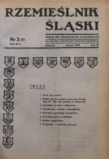 Rzemieślnik Śląski, 1948, R. 10, Nr. 3