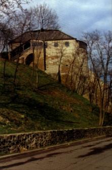 Zamek książąt Ostrogskich w Ostogu.