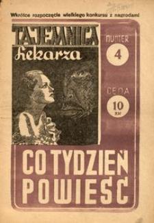 Co Tydzień Powieść, [1946], nr 4
