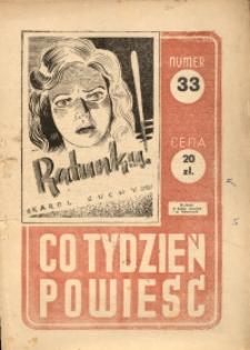 Co Tydzień Powieść, [1947], nr 33