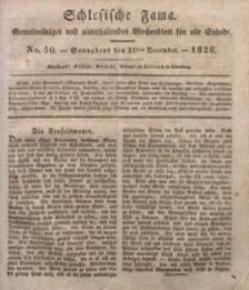 Schlesische Fama, 1826, Jg. 7, No. 50