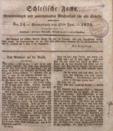 Schlesische Fama, 1826, Jg. 7, No. 24