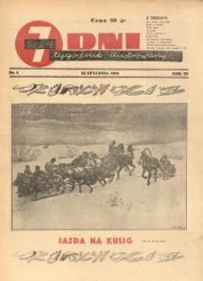 7 Dni, 1943, R. 4, nr 4