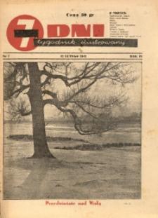 7 Dni, 1943, R. 4, nr 7