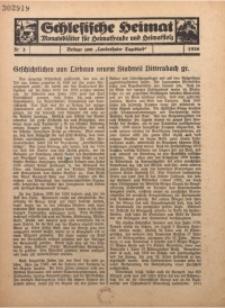 Schlesische Heimat. Monatsblätter für Heimatfreunde und Heimatstolz, 1936, nr 3