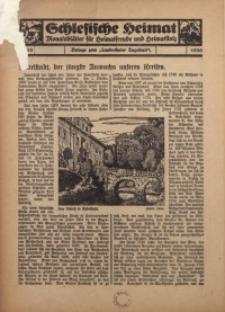 Schlesische Heimat. Monatsblätter für Heimatfreunde und Heimatstolz, 1936, nr 10