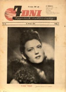 7 Dni, 1944, R. 5, nr 22