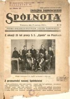 Spólnota Zagłębia Dąbrowskiego, 1932, no 12