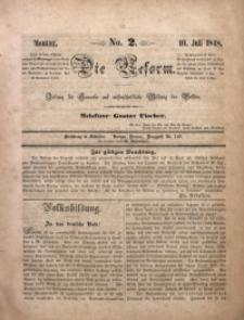 Die Reform, 1848, No. 2