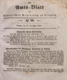 Amts-Blatt der Königlichen Regierung zu Liegnitz, 1843, Jg. 33, No 50