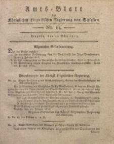 Amts-Blatt der Königlichen Liegnitzschen Regierung von Schlesien, 1813, Jg. 3, No. 11