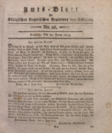 Amts-Blatt der Königlichen Liegnitzschen Regierung von Schlesien, 1814, Jg. 4, No. 26