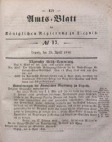Amts-Blatt der Königlichen Regierung zu Liegnitz, 1846, Jg. 36, No 17