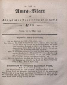 Amts-Blatt der Königlichen Regierung zu Liegnitz, 1846, Jg. 36, No 19