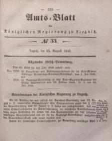 Amts-Blatt der Königlichen Regierung zu Liegnitz, 1846, Jg. 36, No 33
