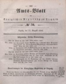 Amts-Blatt der Königlichen Regierung zu Liegnitz, 1846, Jg. 36, No 34