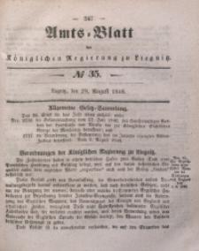 Amts-Blatt der Königlichen Regierung zu Liegnitz, 1846, Jg. 36, No 35
