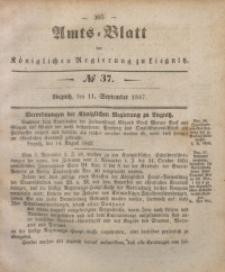 Amts-Blatt der Königlichen Regierung zu Liegnitz, 1847, Jg. 37, No 37