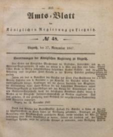Amts-Blatt der Königlichen Regierung zu Liegnitz, 1847, Jg. 37, No 48