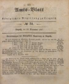 Amts-Blatt der Königlichen Regierung zu Liegnitz, 1847, Jg. 37, No 51