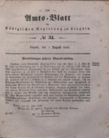Amts-Blatt der Königlichen Regierung zu Liegnitz, 1848, Jg. 38, No 32