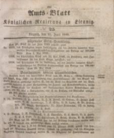 Amts-Blatt der Königlichen Regierung zu Liegnitz, 1849, Jg. 39, No 25