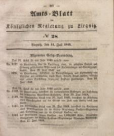 Amts-Blatt der Königlichen Regierung zu Liegnitz, 1849, Jg. 39, No 28