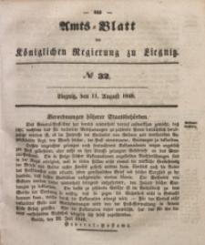 Amts-Blatt der Königlichen Regierung zu Liegnitz, 1849, Jg. 39, No 32