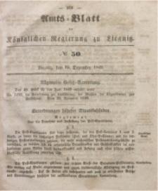 Amts-Blatt der Königlichen Regierung zu Liegnitz, 1849, Jg. 39, No 50