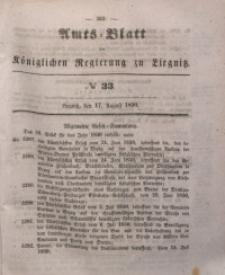 Amts-Blatt der Königlichen Regierung zu Liegnitz, 1850, Jg. 40, No 33