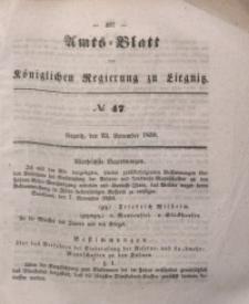 Amts-Blatt der Königlichen Regierung zu Liegnitz, 1850, Jg. 40, No 47