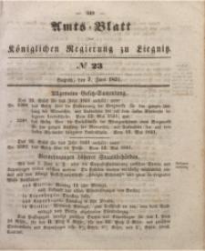 Amts-Blatt der Königlichen Regierung zu Liegnitz, 1851, Jg. 41, No 23