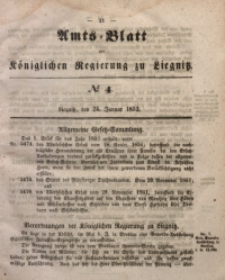 Amts-Blatt der Königlichen Regierung zu Liegnitz, 1852, Jg. 42, No 4