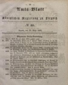 Amts-Blatt der Königlichen Regierung zu Liegnitz, 1852, Jg. 42, No 11