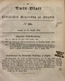 Amts-Blatt der Königlichen Regierung zu Liegnitz, 1852, Jg. 42, No 35