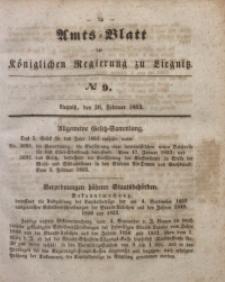 Amts-Blatt der Königlichen Regierung zu Liegnitz, 1853, Jg. 43, No 9