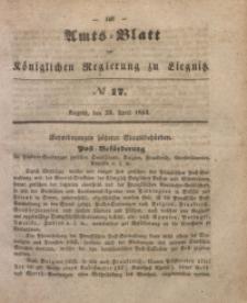 Amts-Blatt der Königlichen Regierung zu Liegnitz, 1853, Jg. 43, No 17