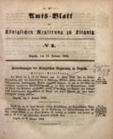 Amts-Blatt der Königlichen Regierung zu Liegnitz, 1854, Jg. 44, No 2