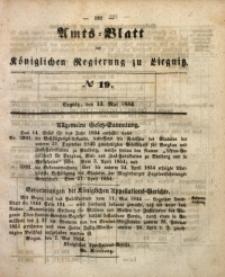Amts-Blatt der Königlichen Regierung zu Liegnitz, 1854, Jg. 44, No 19