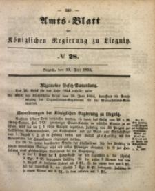 Amts-Blatt der Königlichen Regierung zu Liegnitz, 1854, Jg. 44, No 28