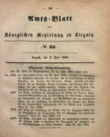 Amts-Blatt der Königlichen Regierung zu Liegnitz, 1855, Jg. 45, No 23